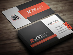 Modern Corporate Professional Business Card Template Flickr
