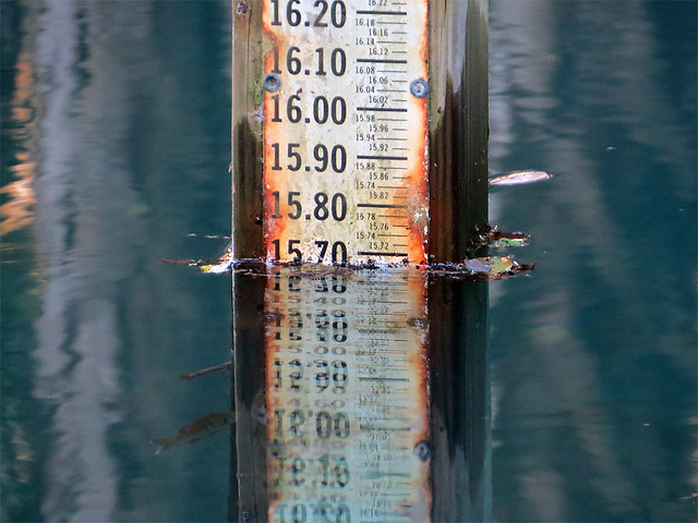 water level at Gemini Springs