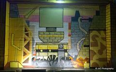 Mural by Chilean artist Basco Vazko