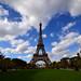 La Torre Eiffel desde los campos de Marte
