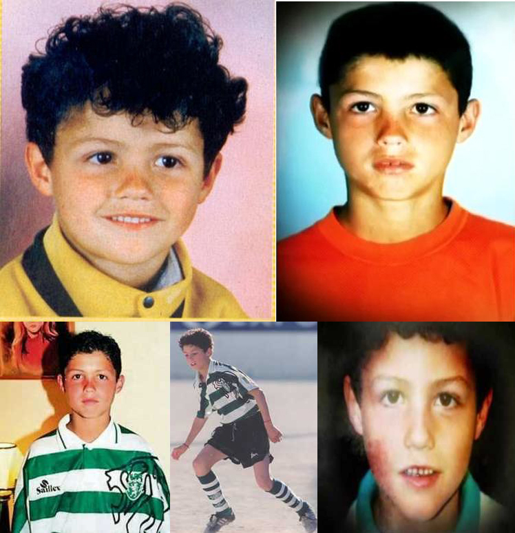 Cristiano Ronaldo Childhood Picture You May Haven T Seen Football