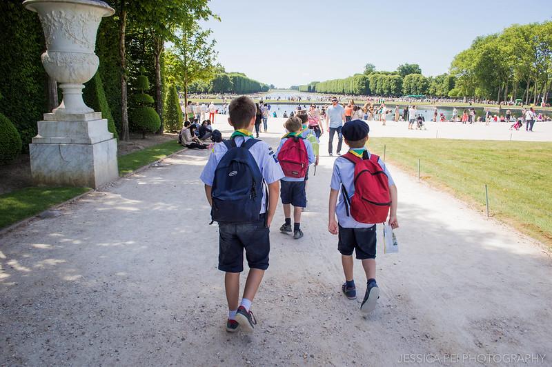 Gardens of Versailles School Children