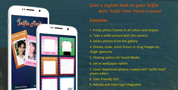 Selfie Time - Selfie App