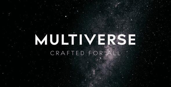 Multiverse WordPress Theme free download