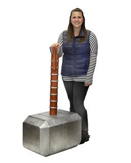 居家裝潢的好夥伴?!NECA【巨大化雷神索爾之鎚】Thor's Hammer Mjolnir