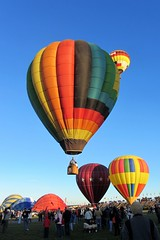 At the Balloon Fiesta