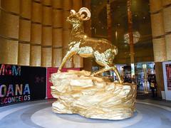 Golden goat (at MGM)