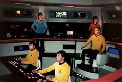 Movieland Wax Museum - Star Trek Crew on the Enterprise - 1987