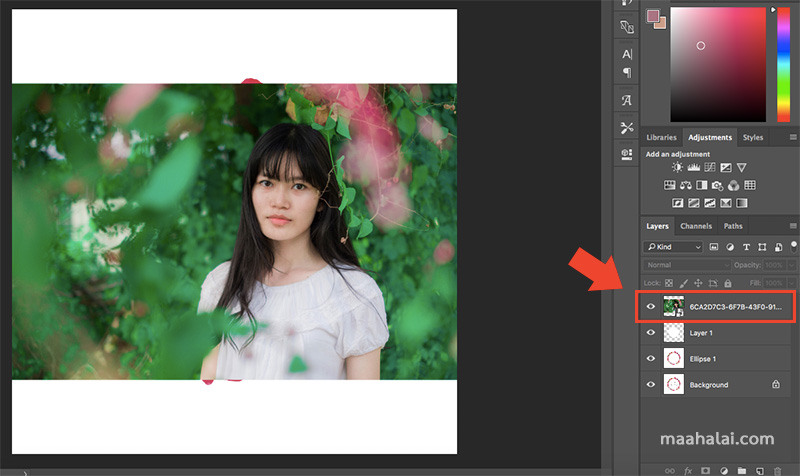 Photoshop Clipping Mask