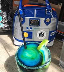 At the @nocc_satx kickoff party for the 5k. Doesn't this teal margarita look like the beginnings of a galaxy far, far away? #sanantoniotexas #margaritas #margarita #teal #tealwarrior #texasauthor #romanceauthor #authorsofinstagram #ovariancancerawareness