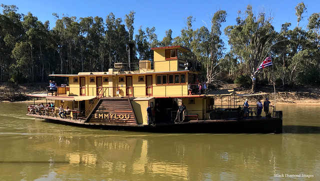 Paddle Wheeler Emmy-Lou, Echuca, Victoria.