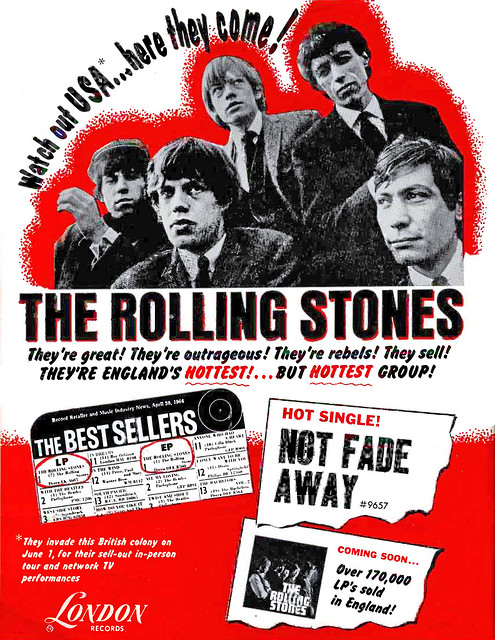 1964 rolling stones not fade away