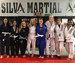 Fighting like a girl....is awesome! The Silva ladies getting their roll on. #girlsingis #jiujiteira #bjj #jiujitsu #brazilianjiujitsu #girlpower #grappling #rondori #hajime #submissionwrestling #silvarmy #silvaladies #silvabjj #parabellum