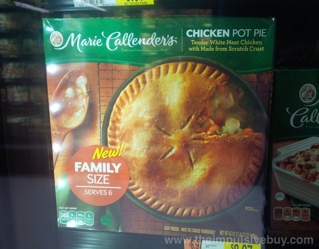 Marie Callender's Family Size Chicken Pot Pie