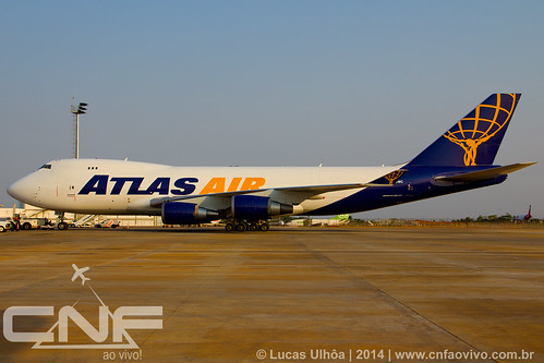 Boeing 747-400F Atlas Air N418MC