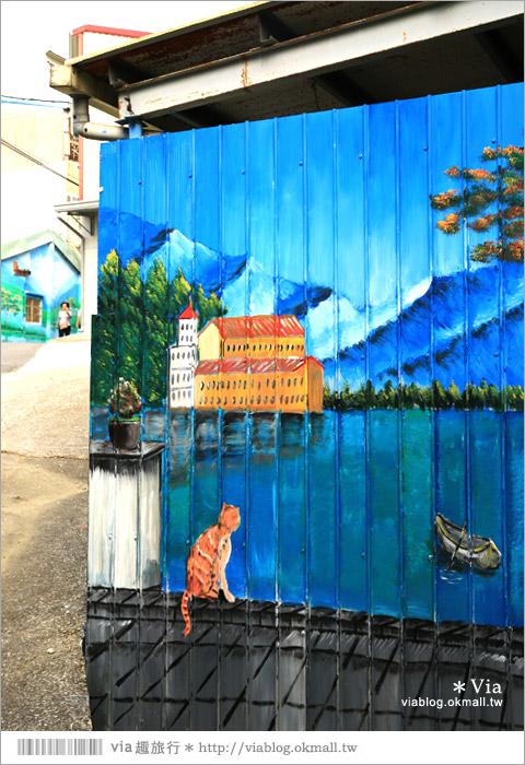 【關廟彩繪村】新光里彩繪村~在北寮老街裡散步‧遇見全台最藝術風味的彩繪村50