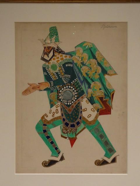 Magus (Costume design), by Natalia Goncharova. (1915).