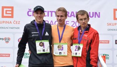 Premiérový ČEZ City Trail Run vyhrál Pavlišta. Závod přilákal téměř 1 000 běžců