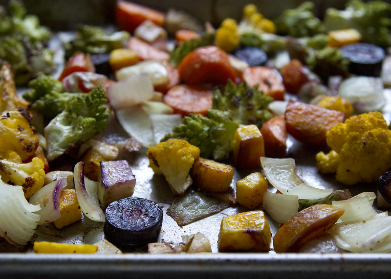 foolproof roasted veggies | reading my tea leaves