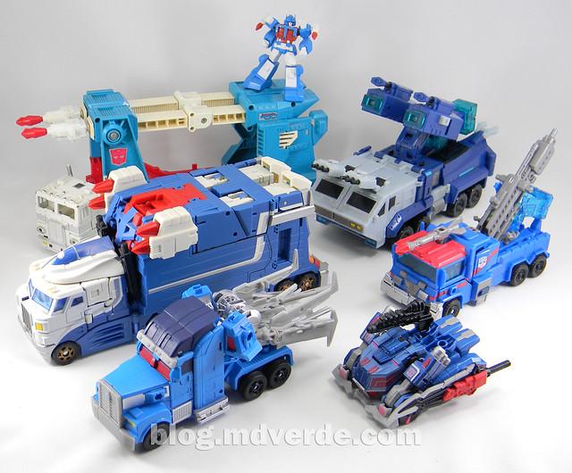 Transformers Ultra Magnus Voyager - Transformers Prime Beast Hunters - modo alterno vs otros Ultra Magnus