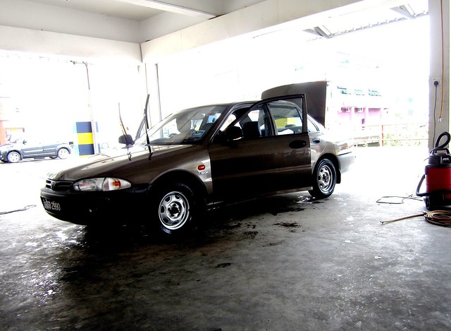 My ol' faithful Proton Wira 1.3