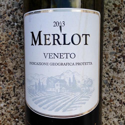 Plonk.  Merlot.  Red wine.