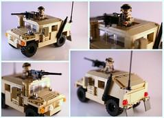 Tan Humvee