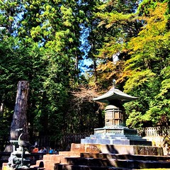 Resting place of the first #shogun #nikko