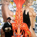 Seara (sea rabbit) and Dr. Takeshi Yamada visited the art exhibition of Jeff Koons at the Whitney Museum of American Art in Manhattan, NY on October 10, 2014. 20141010 289===C2. Erotic art. nudity. topless. breasts, pin-up girl. Elvis