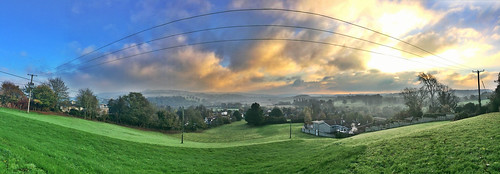 morning england panorama clouds sunrise photography colours village view agi corston agnieszkalewkowicz