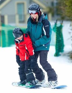 Let's go snowboarding. (Jiminypeak.com)