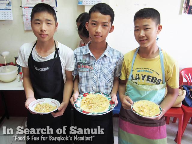 teen cooking class bangkok