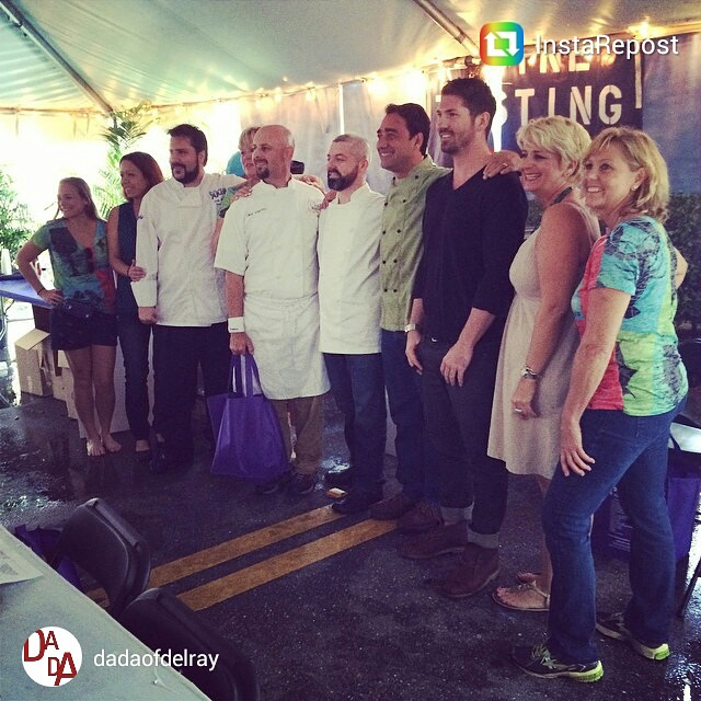 South Florida Food and Wine, Chefs Panel at Delray Beach Wine and Seafood Festival