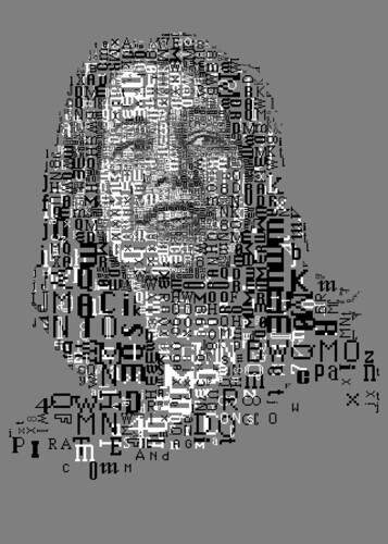 Susan Kare: The 1 Bit Mac fonts portrait (for Typorn.org)