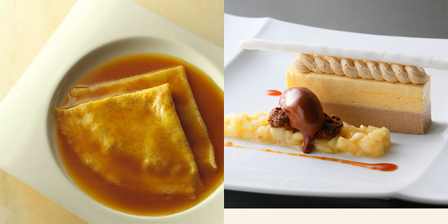 crepe suzette collage