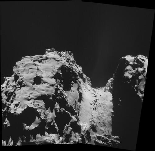 ESA Rosetta: NavCam 2 ottobre 2014