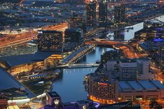 Melbourne City at Sunset, Australia