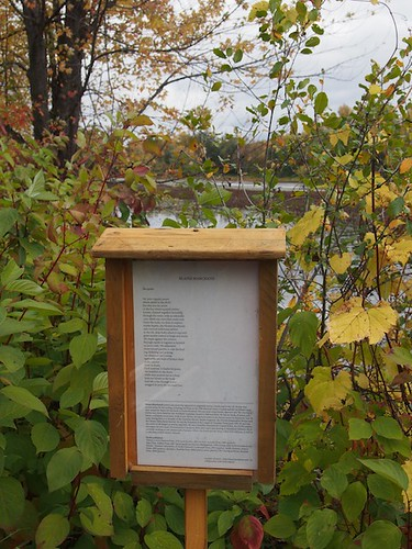 Blaine Marchand's poem on Bill Holland trail
