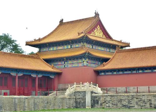 Beijing-Cité Interdite-Porte de l'Harmonie Suprême (2)