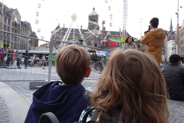 Littles at the Dam Square, Amsterdam