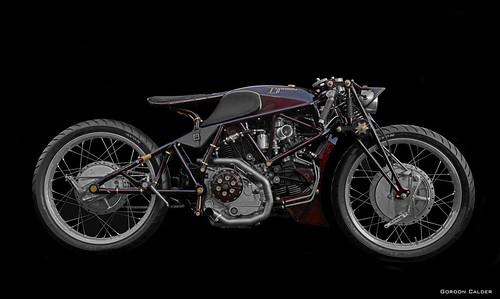 """OEM """"Typhoon""""  Ducati in board racer style - Spot Colour Version"""