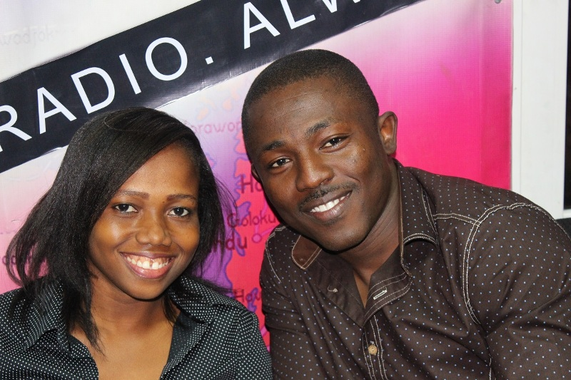 Bismark Atimbiok and Portia Osei Bonsu