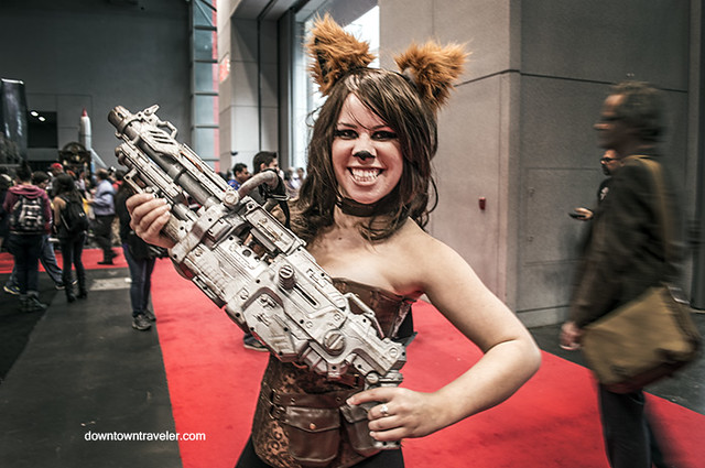 NY Comic Con 2014 Rocket Raccoon