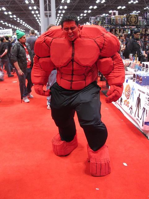 Header of Red Hulk