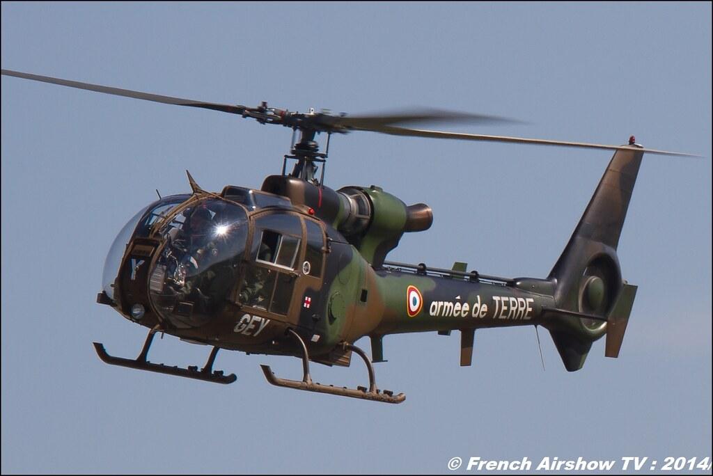 Sud-Aviation ,SA340/341/342 Gazelle 60 ans ,ALAT, JPO Gamstat Valence Chabeuil 2014
