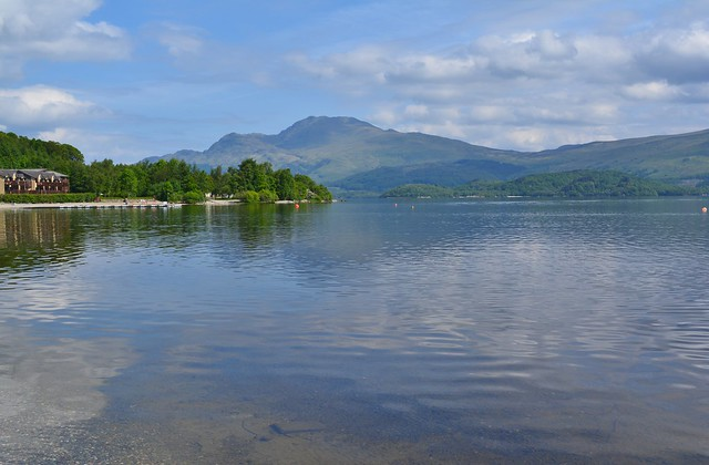 Ben Lomond across Loch Lomond