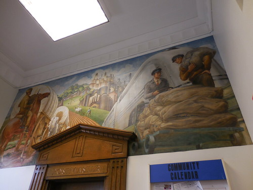 mural postalhistory mtgilead mountgilead morrowcountyohio mountgileadohio mtgileadohio postofficeinmtgileadohio