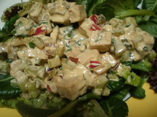 Faux Chicken Salad