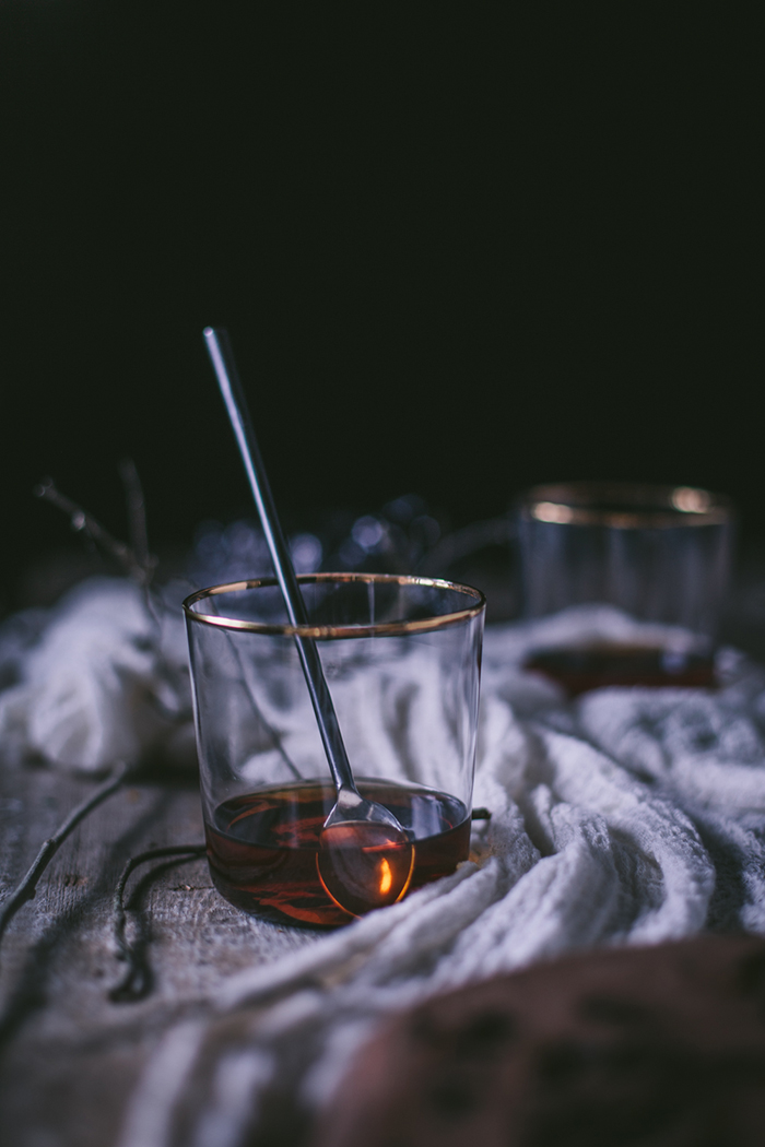Maple Hot Toddies for West Elm  by Eva Kosmas Flores | Adventures in Cooking
