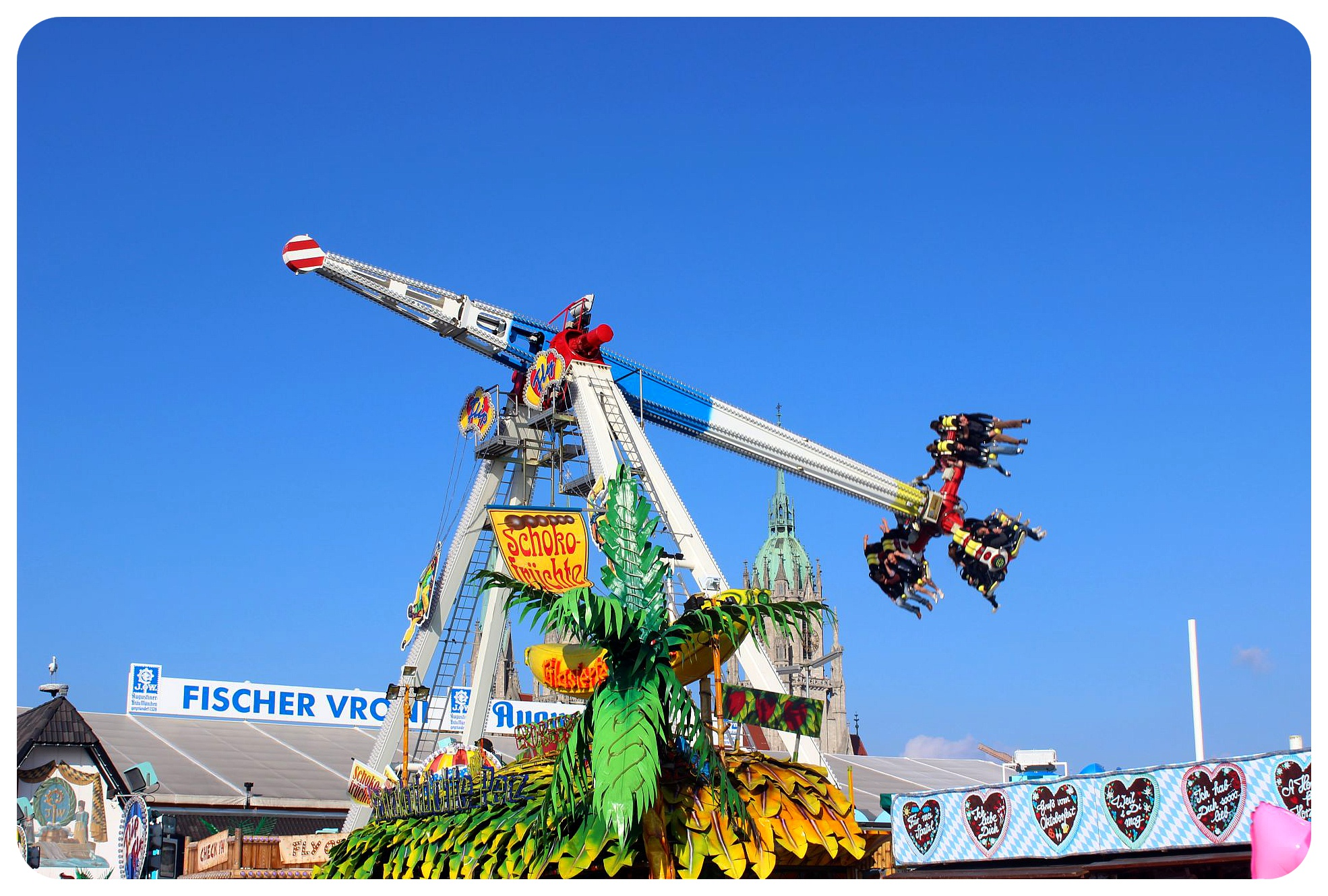 oktoberfest ride munich